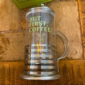 Alfred Stainless Steel French Press Coffee Brewer